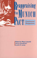 Reappraising the Munich Pact