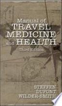 Manual Of Travel Medicine And Health Book PDF