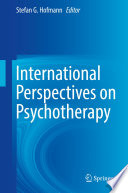 International Perspectives on Psychotherapy Book