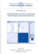 Astronomical Data Analysis Software and Systems XVII