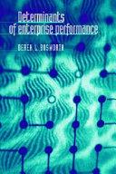 Determinants of Enterprise Performance