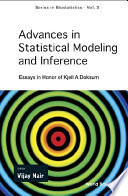 Advances in Statistical Modeling and Inference