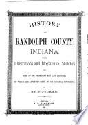 History of Randolph County  Indiana
