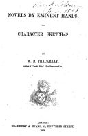 Novels by Eminent Hands  and Character Sketches