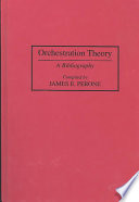 Orchestration Theory Book PDF