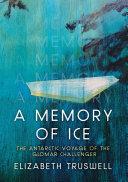Pdf A Memory of Ice