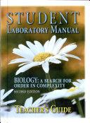 Biology Laboratory Set Teachers Guide