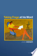 Taking Frege at His Word