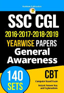 SSC CGL Previous Papers   General Awareness 140 Sets