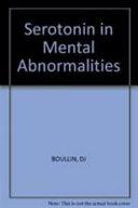 Serotonin in Mental Abnormalities