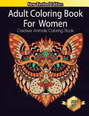 Adult Coloring Book For Women Creative Animals Coloring Book