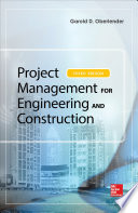 Project Management for Engineering and Construction  Third Edition Book
