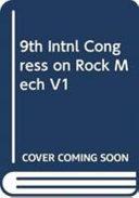 9th Intnl Congress on Rock Mech V1 Book