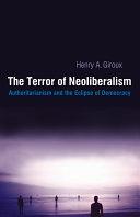 Pdf Terror of Neoliberalism Telecharger