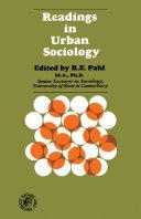 Readings in Urban Sociology