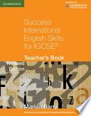Success International English Skills For Igcse Teacher S Book