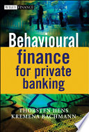 Behavioural Finance for Private Banking Book