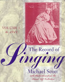The Record of Singing