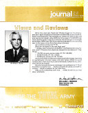 U S  Army Recruiting and Reenlisting Journal
