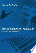 The Economics of Regulation