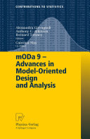 mODa 9     Advances in Model Oriented Design and Analysis