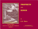 Prophets and Kings—Illustrated