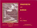 Prophets and Kings—Illustrated Pdf/ePub eBook