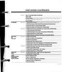 Real Estate Coordinator Book