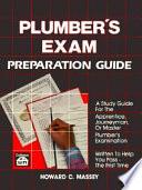 Plumber's Exam Preparation Guide