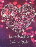 Heart Mandala Coloring Book