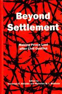 Pdf Beyond Settlement