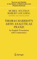 Thomas Harriot's Artis Analyticae Praxis Pdf/ePub eBook