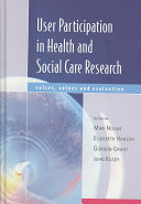 User Participation Research In Health And Social Care