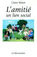 L'amitié, un lien social Pdf/ePub eBook