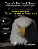 Government in America  16th  AP   Edition Student Workbook Book