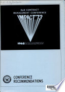 DoD Contract Management Conference