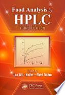 Food Analysis By Hplc Book PDF