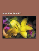 Manson Family Book