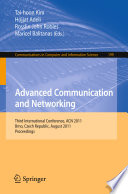 Advanced Communication And Networking Book PDF