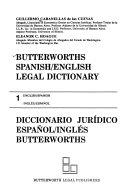 diccionario juridico espaol ingles spanish english law dictionary