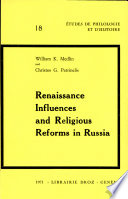 Renaissance Influences and Religious Reforms in Russia
