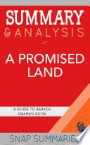 Summary   Analysis of A Promised Land