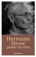 Pdf Hermann Hesse, poète ou rien Telecharger