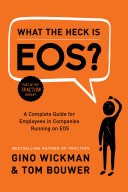What the Heck Is EOS? Pdf/ePub eBook