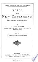 Notes  explanatory and practical  on the New Testament  ed  by R  Frew Book PDF