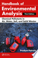Handbook of Environmental Analysis Book