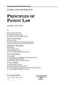 Principles of Patent Law Book