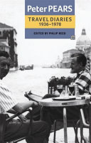 Pdf The Travel Diaries of Peter Pears, 1936-1978