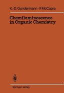 Chemiluminescence in Organic Chemistry Book