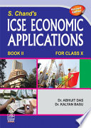 S. Chand's ICSE Economic Application Book II For Class X